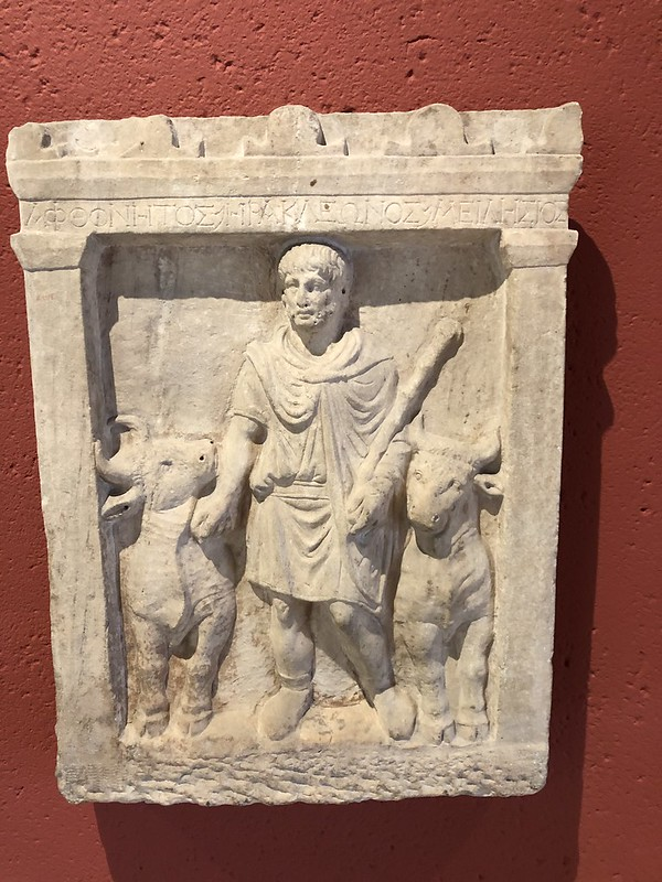 Relief of Hercules and the Cattle of Geryon