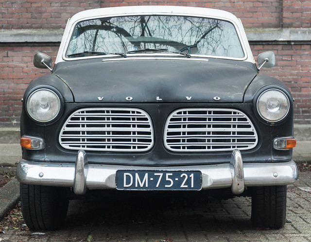 Another classic Volvo in Utrecht