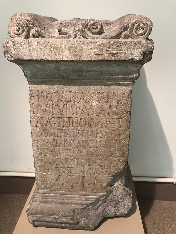 Altar to Hercules Saxanus
