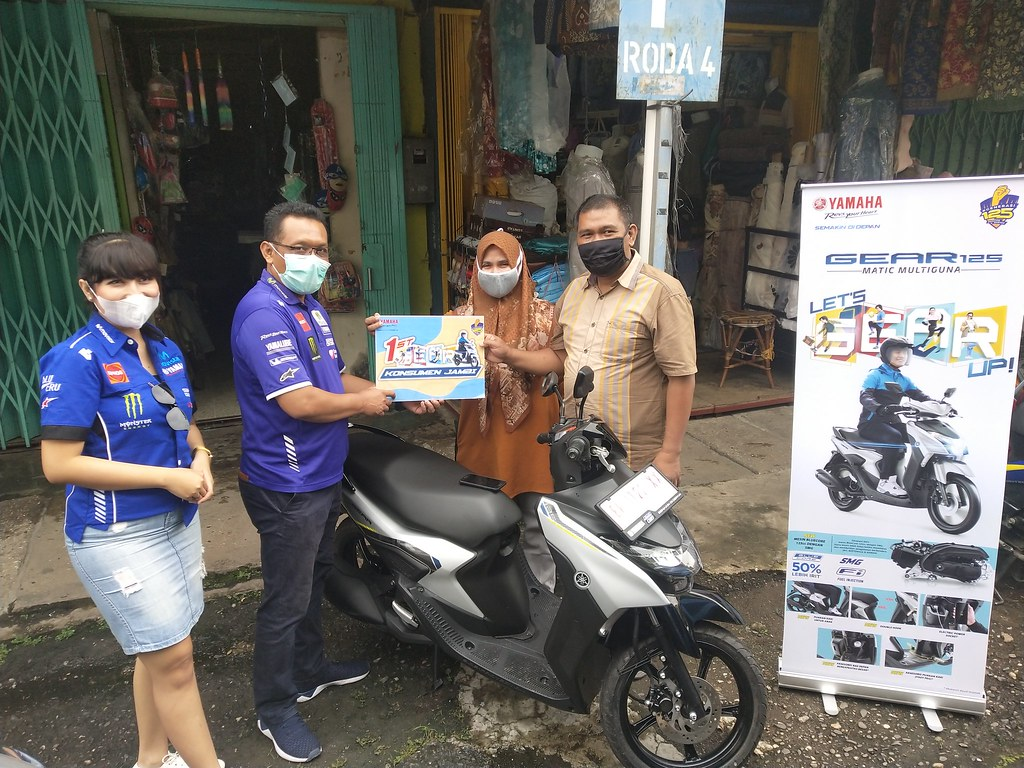 Yamaha Gear 125 Jambi