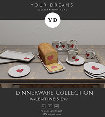 {YD}Dinnerware Collection Valentine's Day