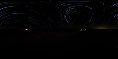 Star Trails with Ground