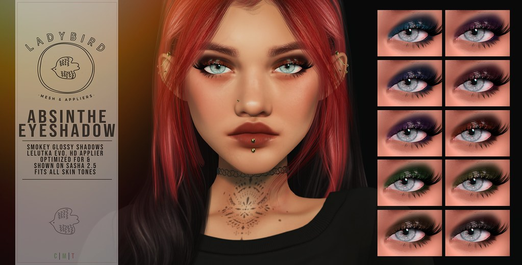 Ladybird. // Absinthe Eyeshadow @ N21 ♥