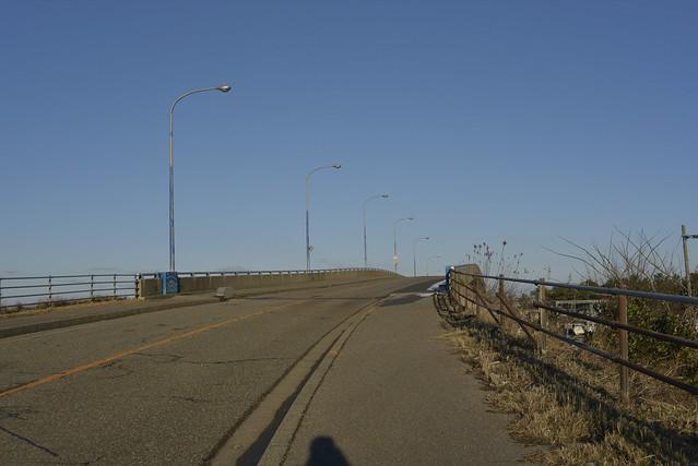 金石大橋からの白山
