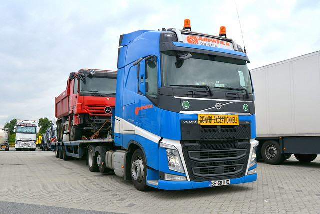 RO - Volvo FH4 Globetrotter - CARPATICA Logistic