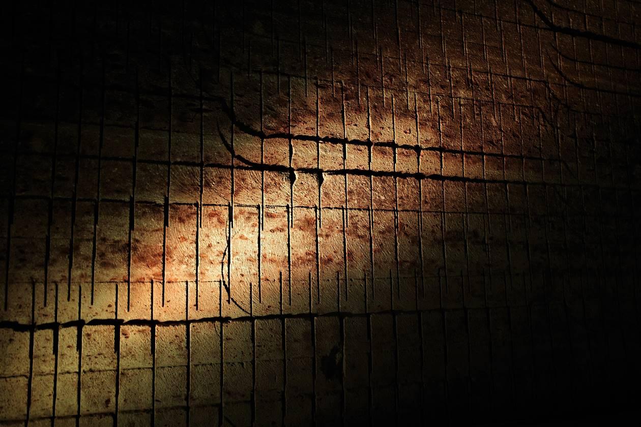 大谷資料館 遺跡のような石壁