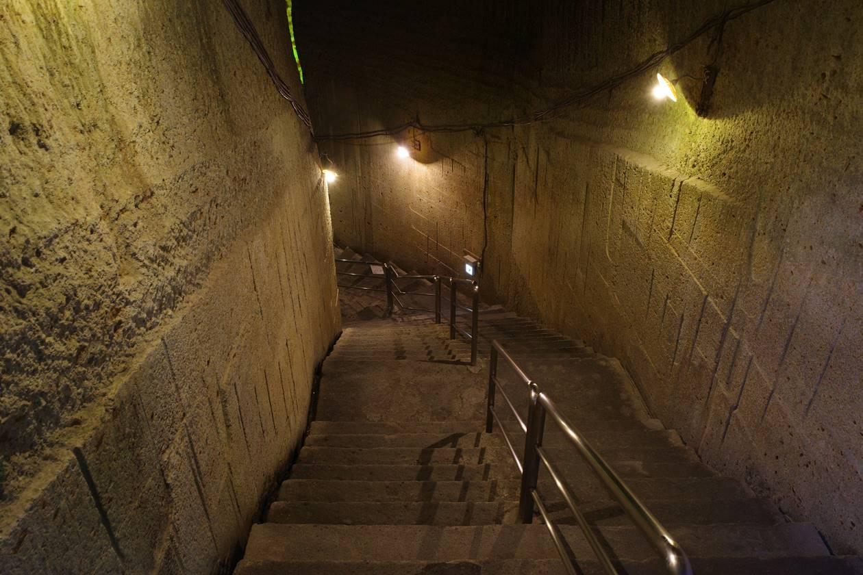 大谷資料館 地下採石場へ