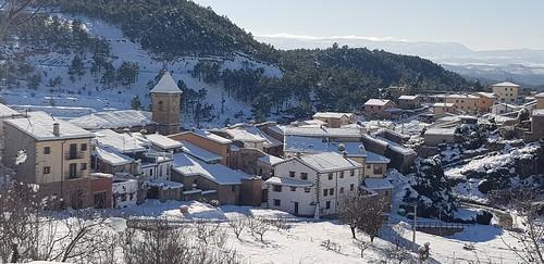 Nieve vista Fuentes