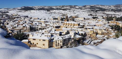 Nieve vista Rubielos