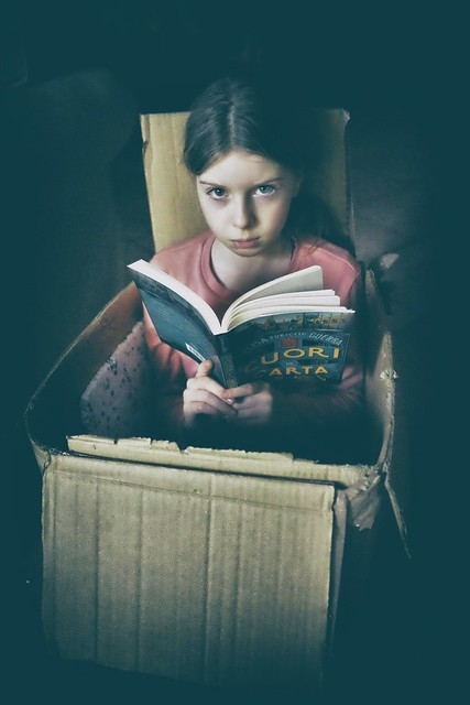 reading in a box