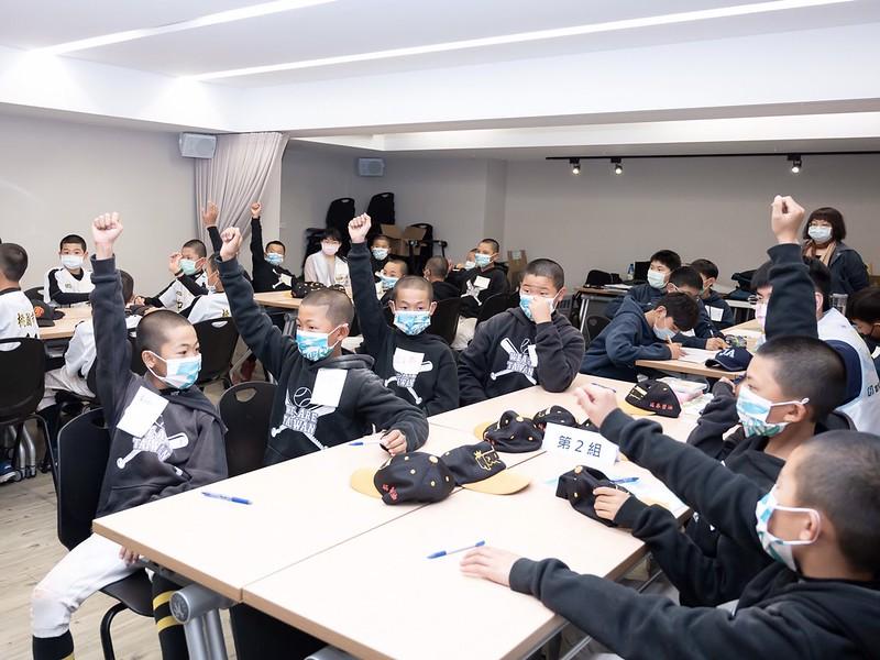 富邦盃為少棒球員設計專屬理財教室課程。(圖/中華棒協提供)