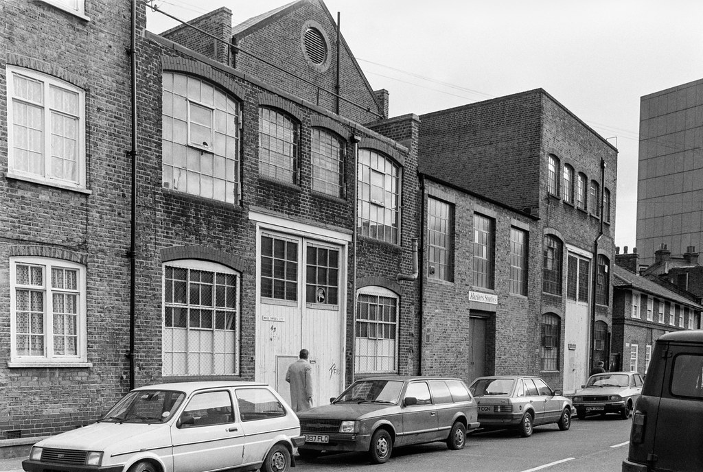 Works, Horsley St, Walworth, Southwark, 1989 89-1c-23
