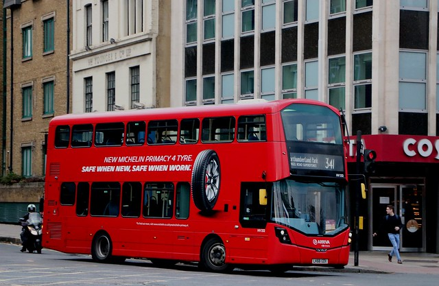 Arriva London - HV252 - LK66GDX - Michelin