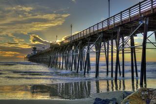O'Side Pier Sunset 30-1-20-21-6D-17X40mm