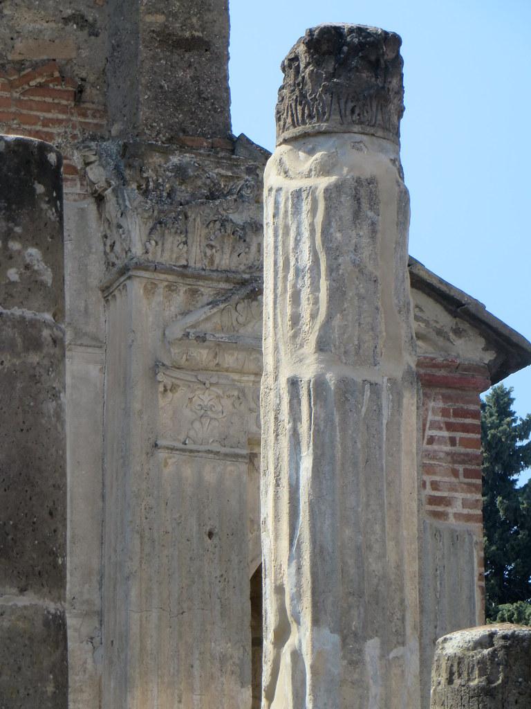 Temple d'Isis, IIe siècle avant JC, Région VIII, Pompéi, Campanie, Italie.