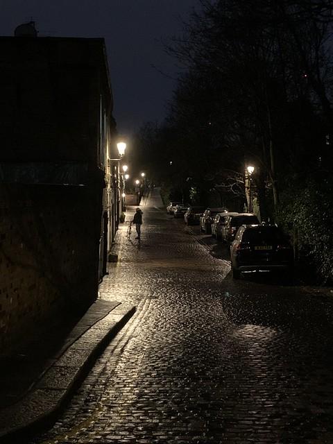 16. An alley
