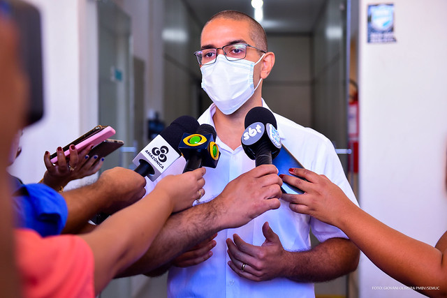 2021.01.21 Entrega das vacinas contra a COVID-19 no CMI