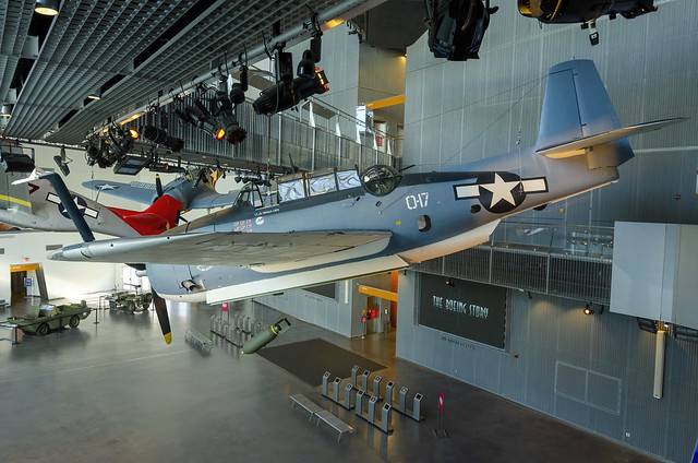 WWII Museum - New Orleans  Military Aircraft