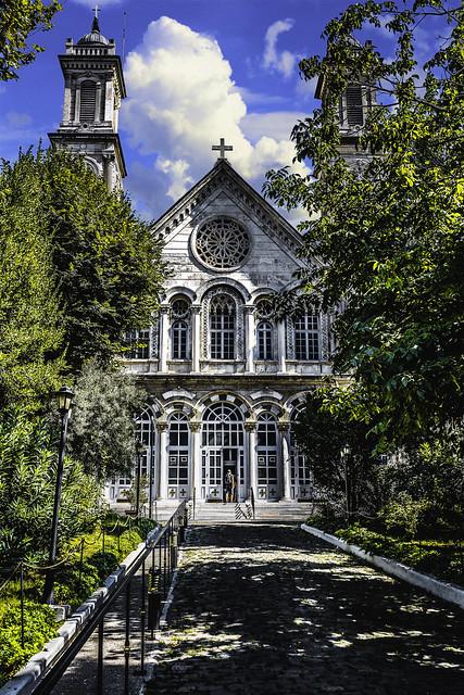 Aya Triada Church Istanbul
