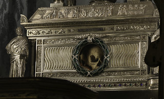 The Skull of Saint Agnes of Rome | by Lawrence OP