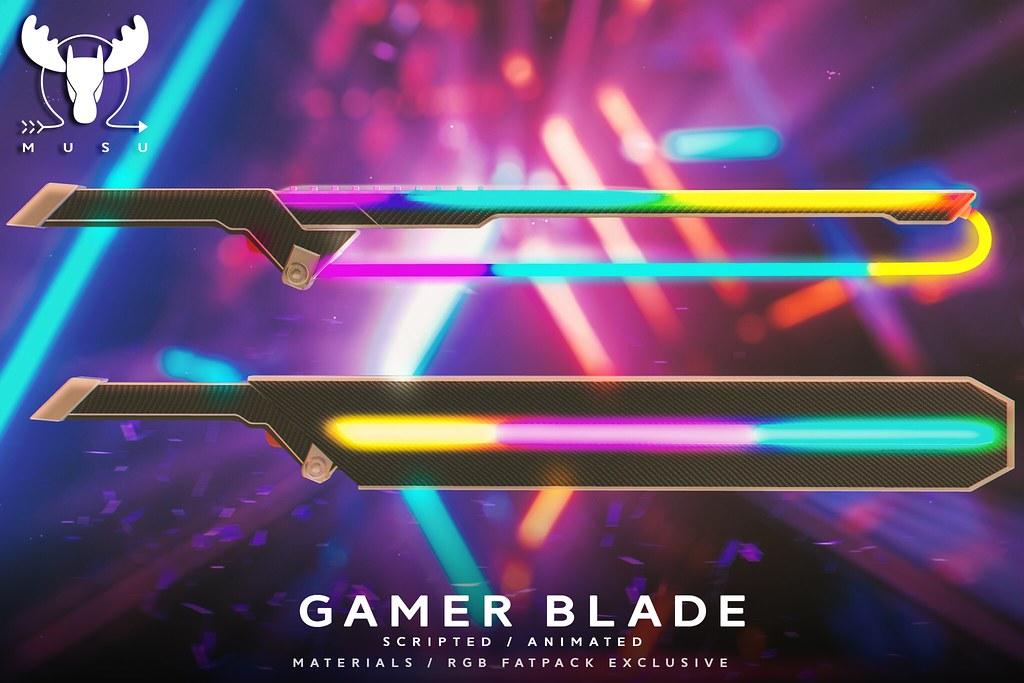 -MUSU- Gamer Blade @ Mainframe!