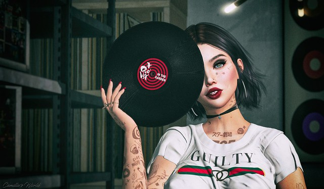 Girl put your records on