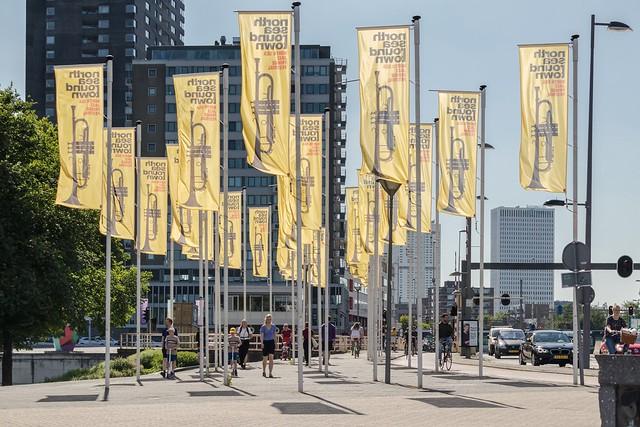 Rotterdam, Boompjeskade.