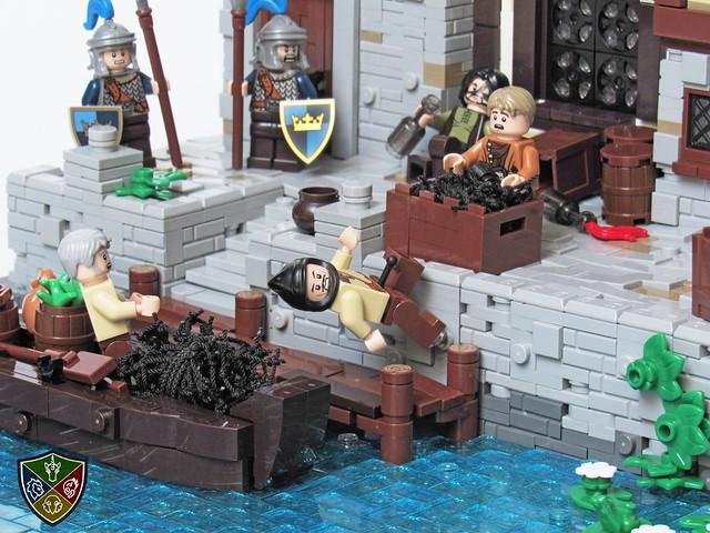 fractured kingdoms, bandit attack