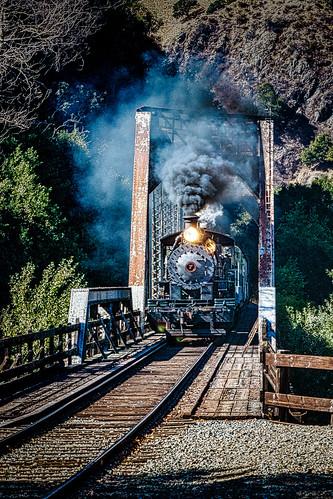sunolca railroading sunolvalley landscape railroadtracks fremontca tress nilesrailroad sunlight skookum locomotive steamengines fall smoke nilescanyonrailroad