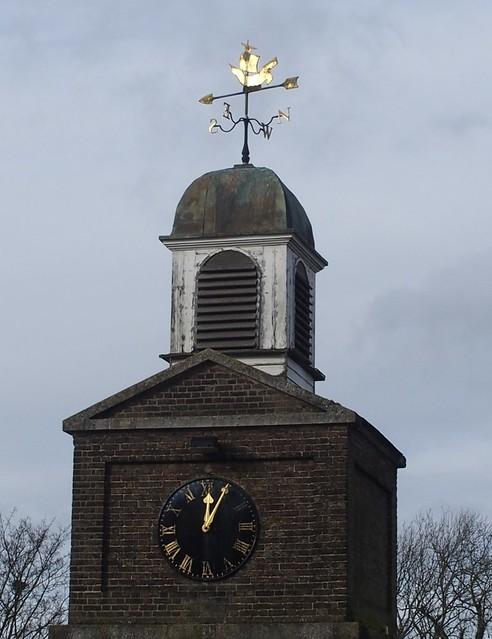 Purfleet Garrison clock tower