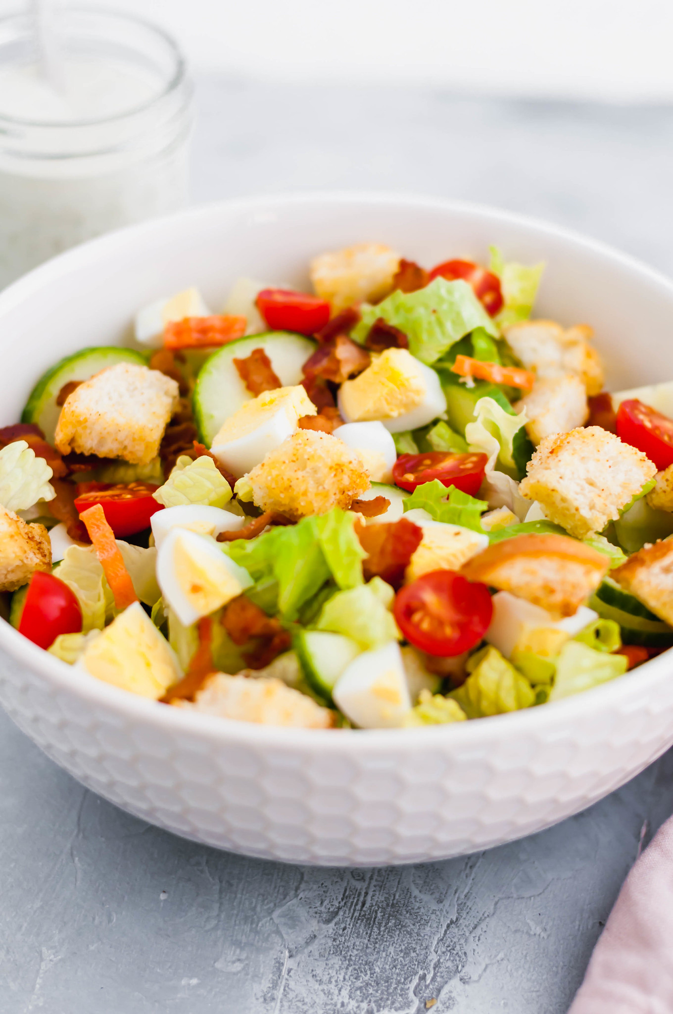 Sometimes you just need a simple side salad to round out your meal. Get ready for the best side salad using simple ingredients you already have in your refrigerator.