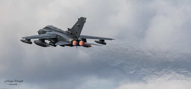 RAF 15 Sqn OCU Panavia Tornado GR4