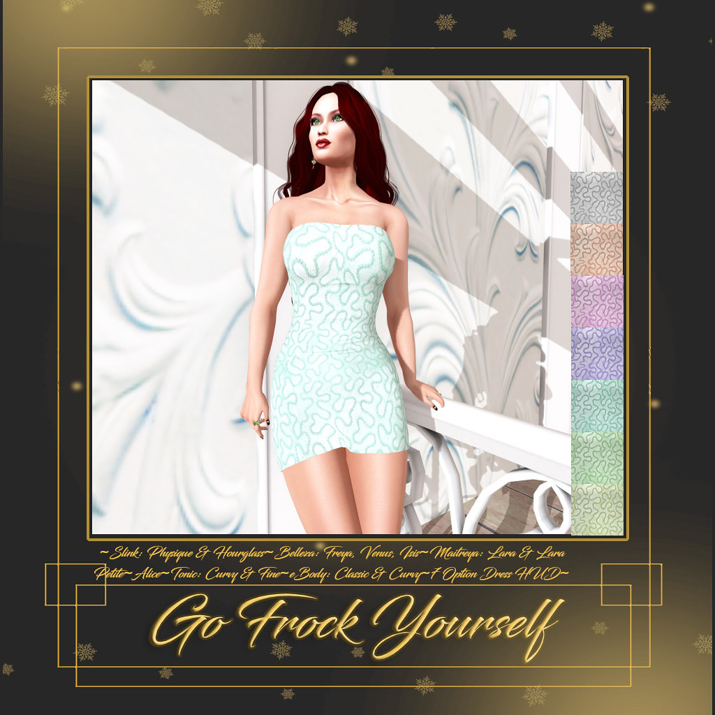 GFY-Caroline Tube Dress