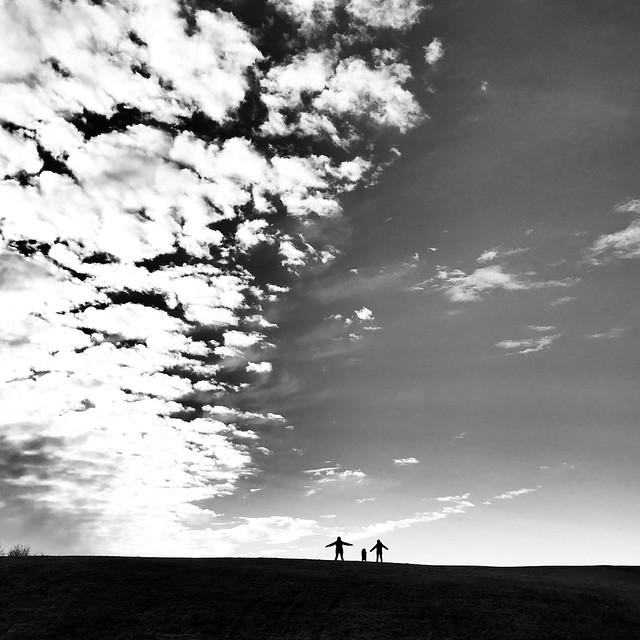Silhouettes on the horizon