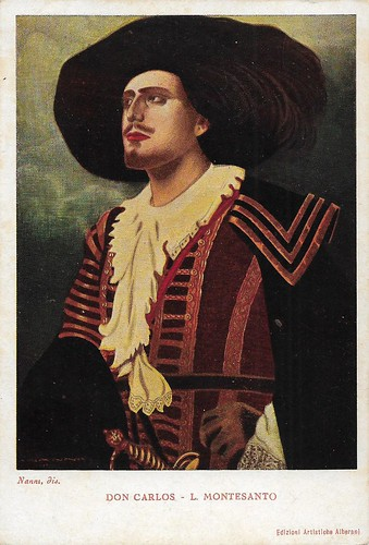 Luigi Montesanto in the opera Don Carlos (Verdi)