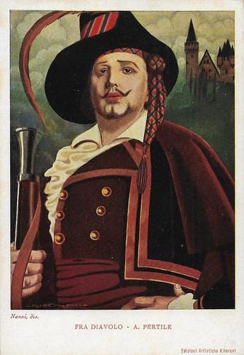 Aureliano Pertile in the opera Fra Diavolo (Auber)