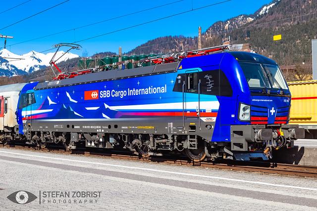 SBB Cargo International   193 492-6