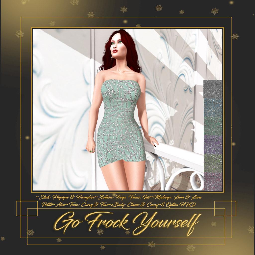 GFY-Natasha Tube Dress