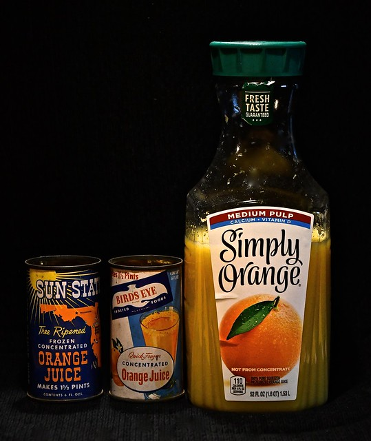 Orange Juice Then and Now