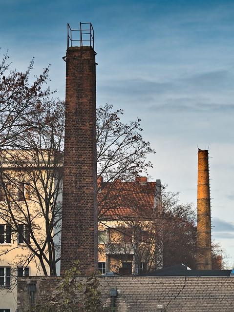 Smokestacks Berlin Weißensee
