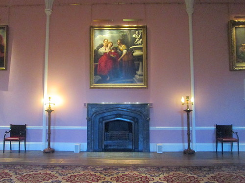 Fireplace, Bishop's Throne Room, Auckland Castle