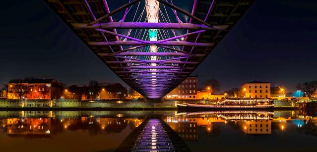 Krakow...under the bridge...