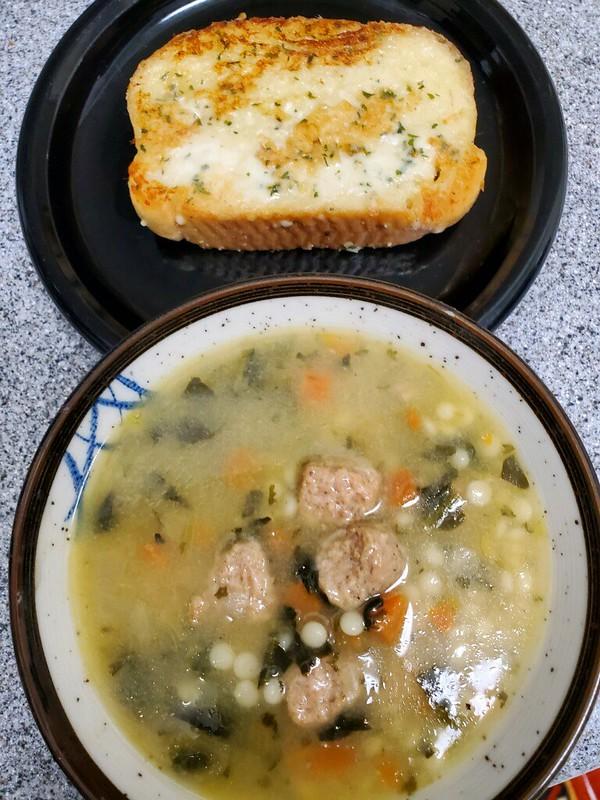 italian meatball wedding soup
