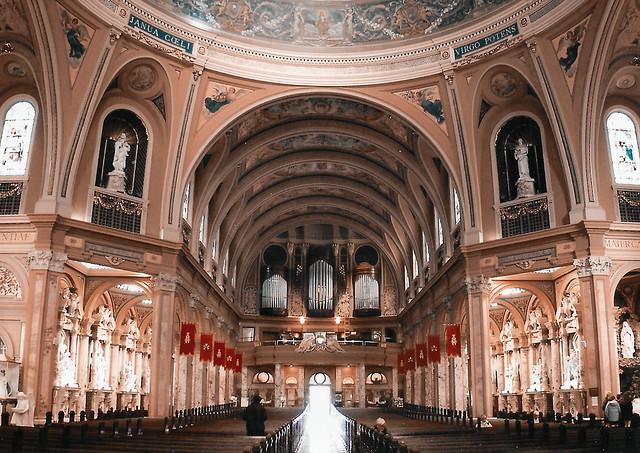 Our Lady of Victory Basilica ~ Pipe Origin ~ Lackawanna ~ New York ~ Landmark