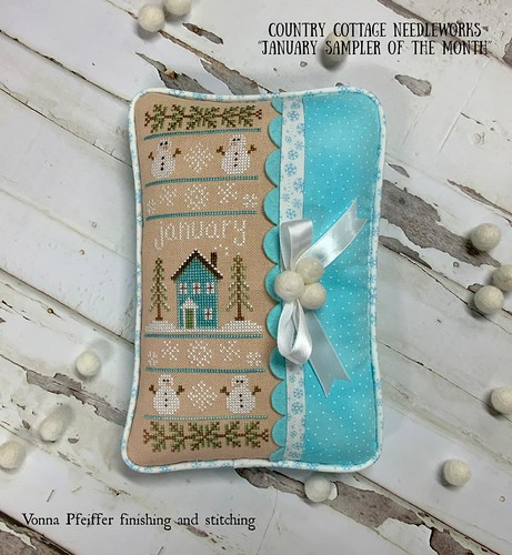 Country Cottage Needleworks_January Sampler Month