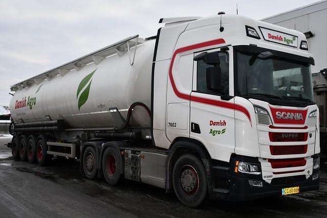 Scania NG R 520 V8 - Danish Agro - 7602 - DK  CG 60 668