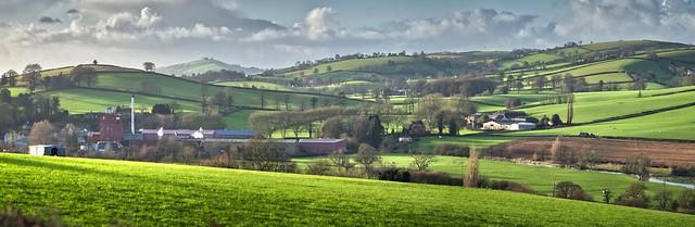 Devonshire Hills and Pastures.