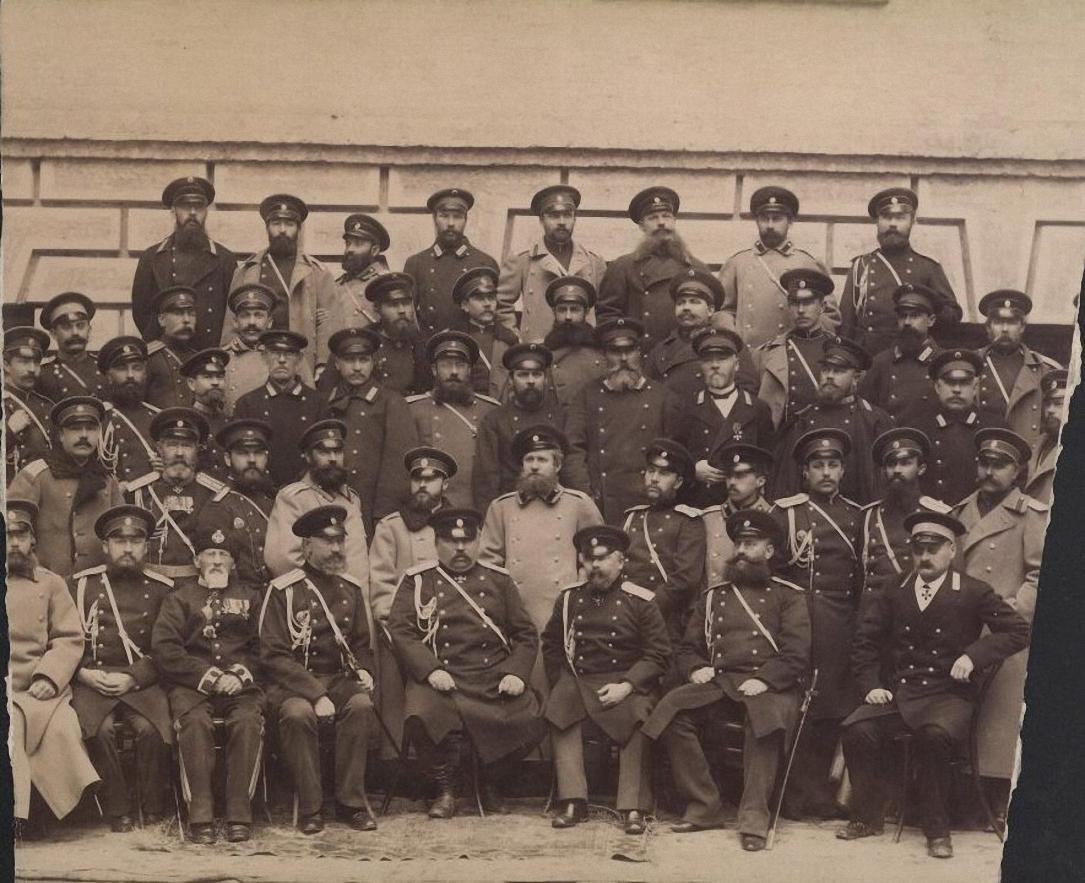 Генеральный штаб Кавказского военного округа. 1891