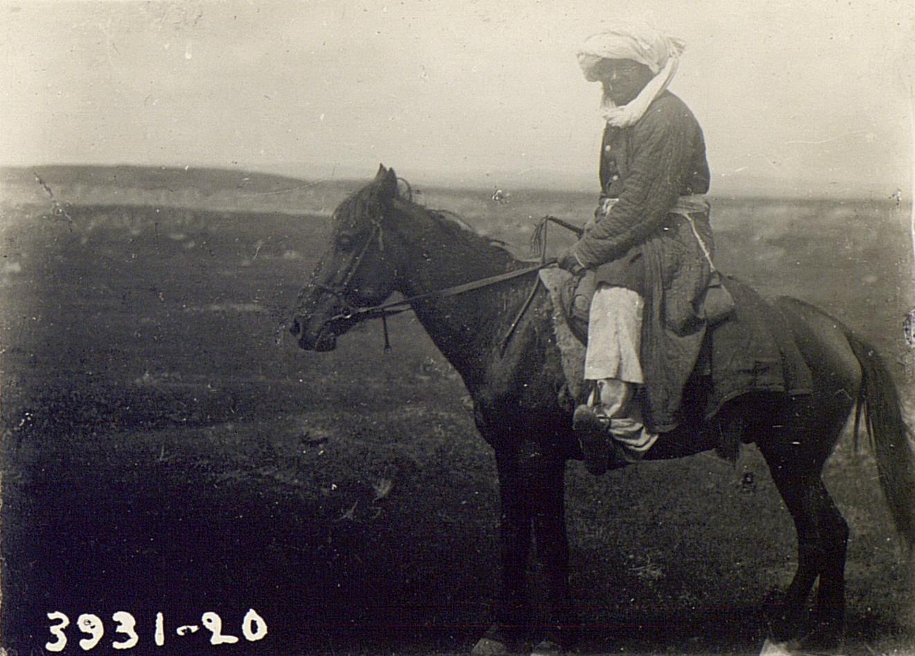 Хазариец на лошади