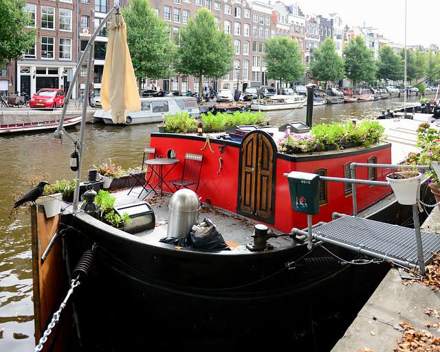 Casa barco, una de las paradas de nuestro viaje de 3 días por Amsterdam